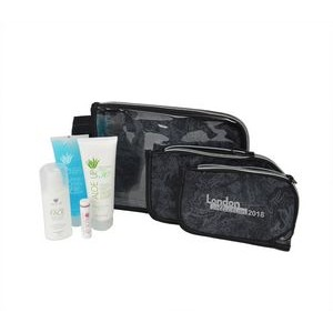 3 Piece Travel Kit with White Collection