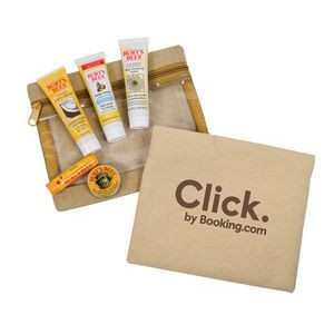 Jute Cotton Envelope Burt's Bees Essential Kit